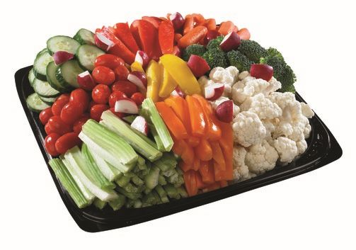 Photo of Rainbow Veggie Platter